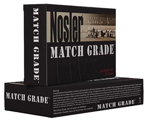 Nosler 223 Rem Match Grade 60011 77 Grain Custom Competition 20 Rounds