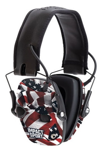 Howard Leight Impact Sport Shooters Electronic Earmuff R-02530 NRR 22 One Nation