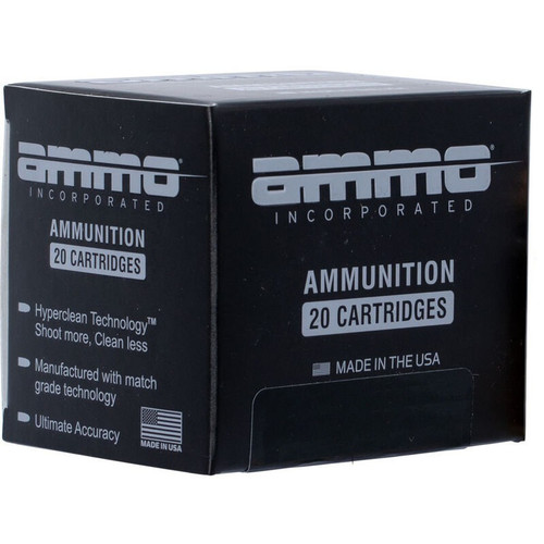 Ammo Inc 9mm Ammunition AI9124JHP-A20 124 Grain Jacketed Hollow Point 20 Rounds