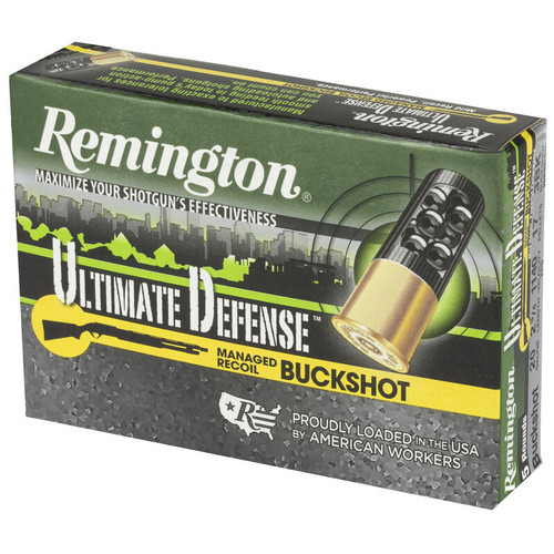 "Remington 20 Gauge Buckshot Ammunition 20BRR3HD 2-3/4"" 1140 FPS 5 Rounds"