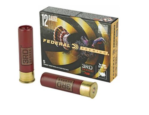 """Federal 12 Gauge Ammunition PTDX139567 3rd Degree 3-1/2"""" 2 oz 5-6-7 Shot 5 Rounds"""