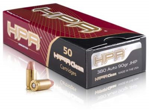HPR 380 Auto Ammunition 90 Grain XTP Jacketed Hollow Point 50 rounds