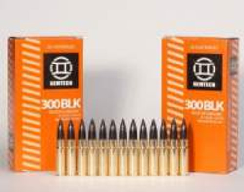 Gemtech 300 AAC Blackout 187 gr Subsonic Predator Projecticle 20 rounds