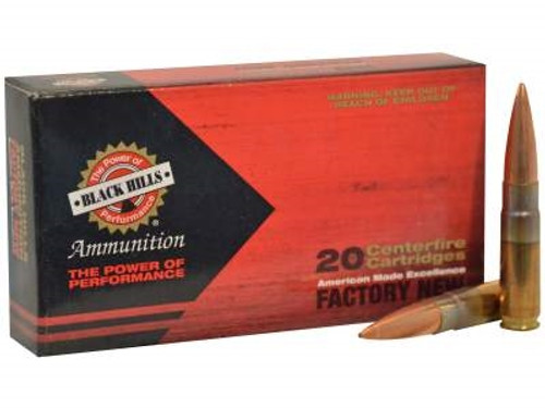 Black Hills 300 Whisper Ammunition D300WHISPERN2 220 Grain Sierra Open Tip  Match Subsonic 20 rounds