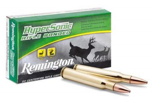 Remington 7mm Rem Mag Ammunition HyperSonic PRH7MMRC 160 Grain Core-Lokt  Ultra Bonded 20 rounds