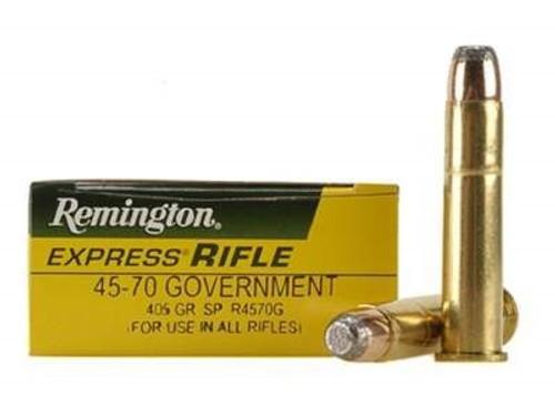 Remington 45-70 Ammunition R4570G 405 Grain Core-Lokt Soft Point 20 rounds