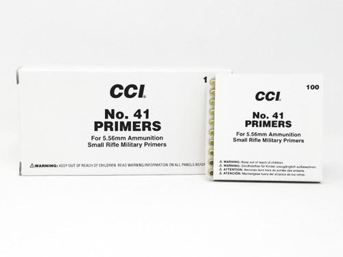 CCI Primers No. 41 223 Rem/ 5.56 NATO Small Rifle 0001 Brick of 1000 Count