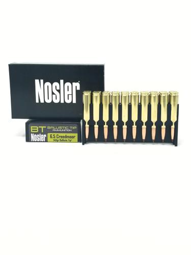 Nosler 6.5 Creedmoor Ammunition Hunting 40064 140 Grain Ballistic Tip 20 Rounds