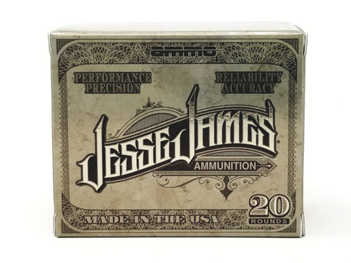 Jesse James 10 mm Ammunition 10180JHP20 180 Grain Jacketed Hollow Point 20 Rounds
