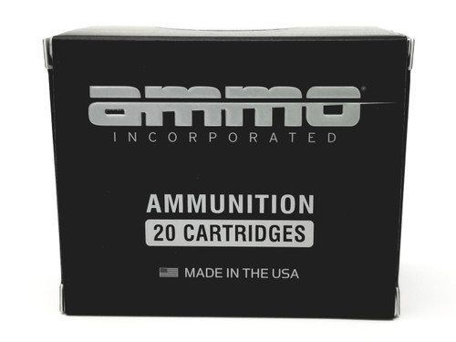 Ammo Inc 380 Auto Ammunition 380090JHPA20 90 Grain Jacketed Hollow Point 20 Rounds
