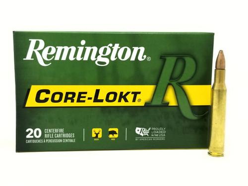 Remington 270 Win Ammunition Core-Lokt R270W1 100 Grain Pointed Soft Point 20 Rounds