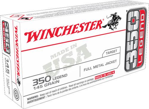 Winchester 350 Legend Ammunition USA3501 155 Grain Full Metal Jacket 20 Rounds
