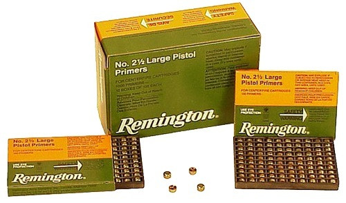 Remington Primers 5-1/2 Small Pistol X22626 1000 Count