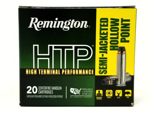 Remington 38 Special +P Ammunition HTP RTP38S10A 110 Grain Semi-Jacketed Hollow Point 20 Rounds