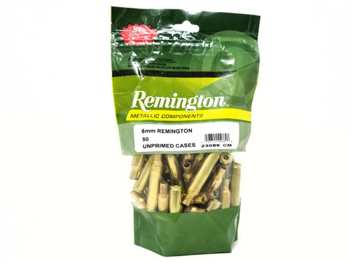 Remington 6mm New Reloading  Brass RC6MMR 23086  Brass 50 Pieces
