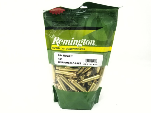 Remington 204 Ruger New Reloading  Brass RC204R 22414 Brass 100 Pieces