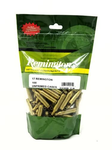 Remington 17 Remington New Reloading  Brass RC17R 22398 Brass 100 Pieces