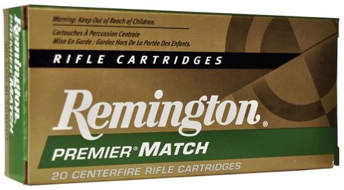 Remington 300 AAC Blackout Ammunition Match RM300AAC6 125 Grain Sierra Matchking Open Tip 20 Rounds