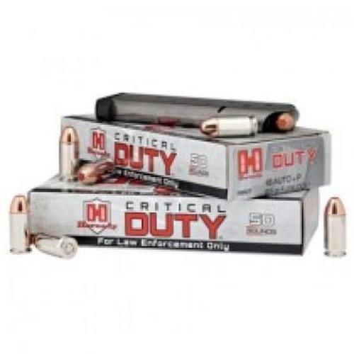 Hornady 357 Sig Ammunition Critical Duty 91295 135 Grain FlexLock 50 Rounds