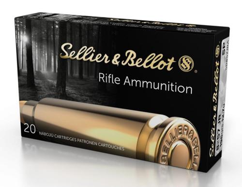 Sellier & Bellot 8x57 JRS Ammunition SB857JRA 196 Grain Soft Point 20 Rounds