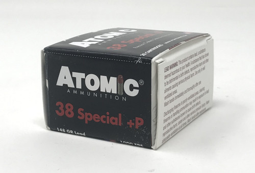 Atomic Ammunition 38 Special +P 00462 148 Grain Hollow Point 20 Rounds