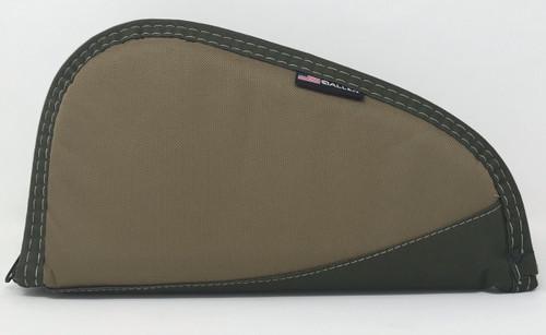 """Allen Deluxe 11"""" Handgun Case AL445-11 Camel/Olive"""