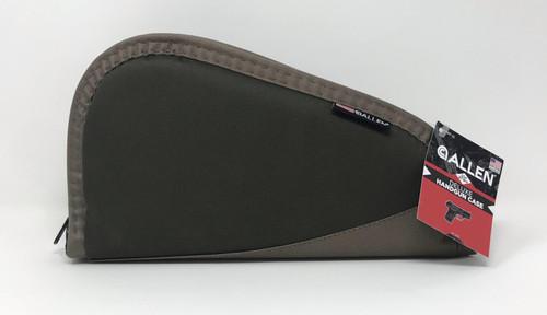 """Allen Deluxe 11"""" Handgun Case AL447-11 Taupe/Tan"""