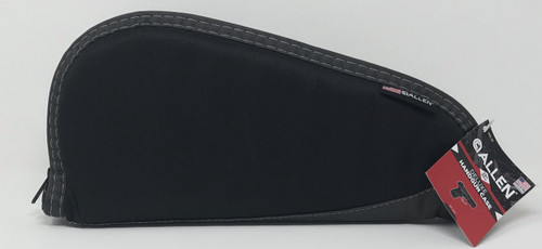 """Allen Deluxe 13"""" Handgun Case AL444-13 Black/Grey"""