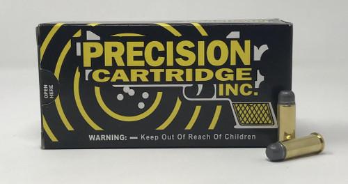 Precision Cartridge 38 Long Colt Ammunition PC38LC158 158 Grain Lead Round Nose Flat Point 50 Rounds