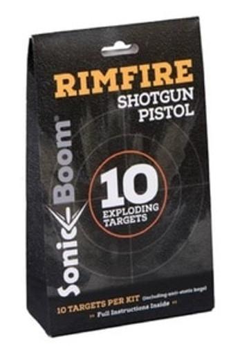 Sonic Boom Exploding Rimfire Rifle Target