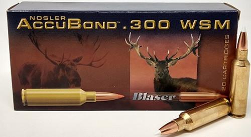 Norma 300 WSM Ammunition 180 Grain Nosler AccuBond Ballistic Tip 20 Rounds