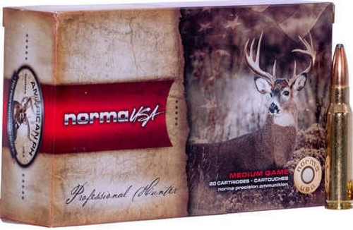 Norma 308 Winchester Ammunition 40176850 180 Grain Partition Soft Point 20 Rounds