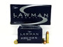 CCI 38 Special Ammunition Lawman 53733 125 Grain Full Metal Jacket 50 Rounds