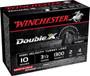"Winchester 10 Gauge STH104 Ammunition Double X Turkey 3-1/2"" #4 Shot 2oz 1300fps 10 Rounds"