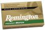 Remington 223 Rem Ammunition Premier Match RM223R1 69 Grain Sierra MatchKing Boat Tail 20 Rounds