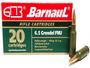 Barnaul 6.5 Grendel Steel Case Ammunition 100 Grain Full Metal Jacket 20 Rounds