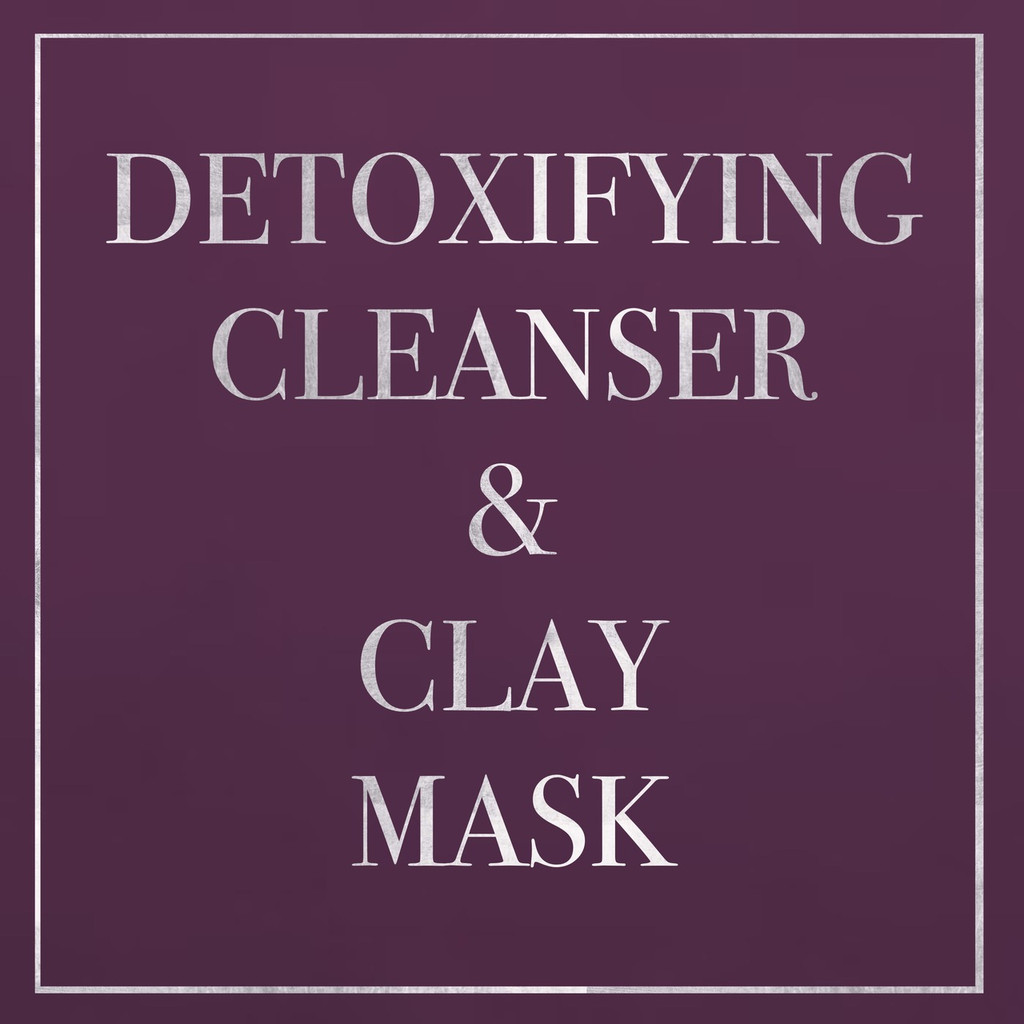 Detoxifying Cleanser & Clay Mask