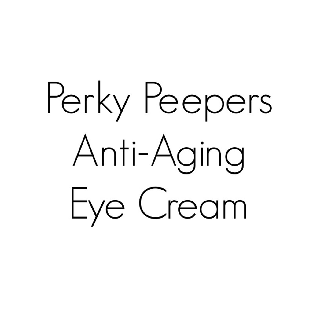 Perky Peepers Eye Cream