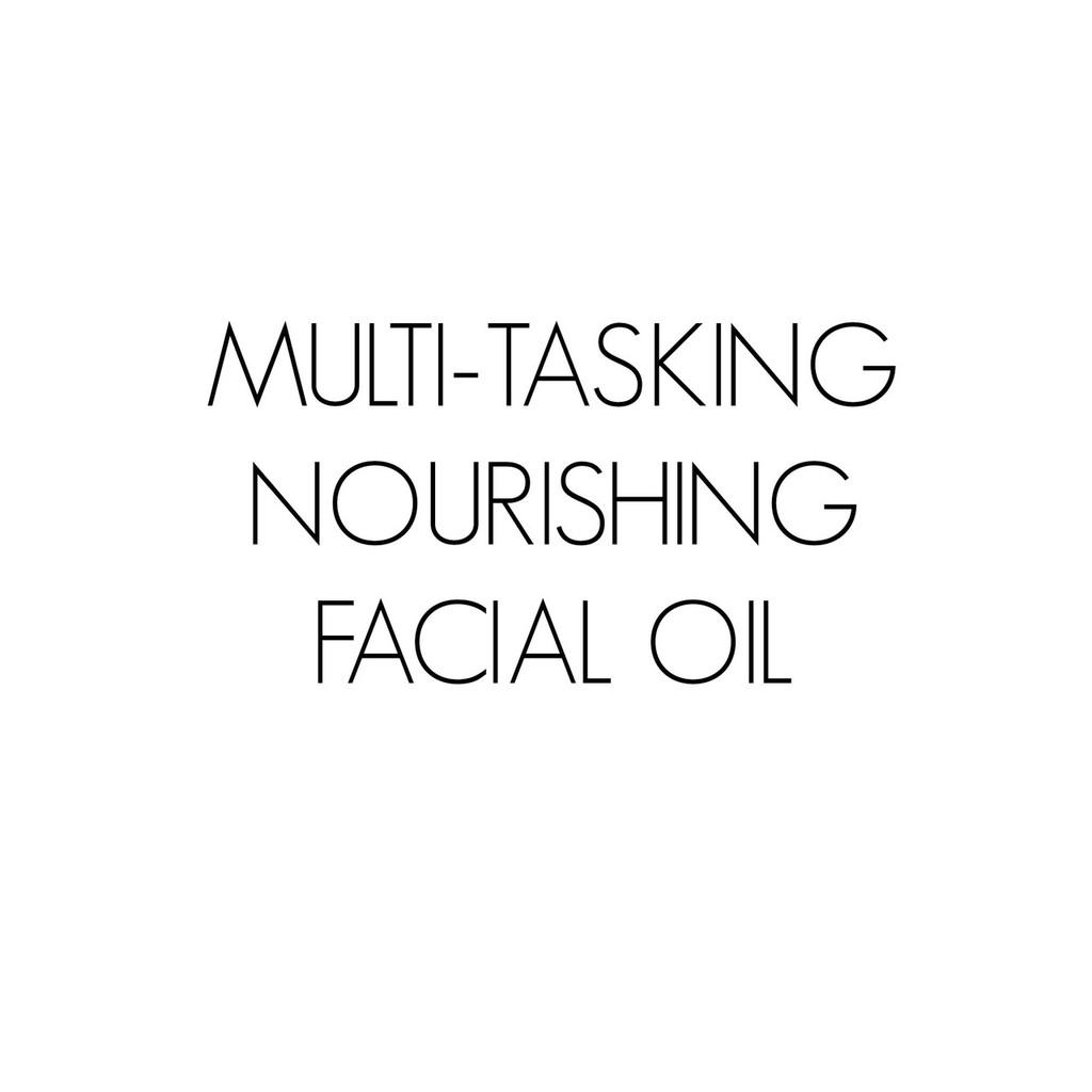Multi-Tasking Nourishing Facial Oil
