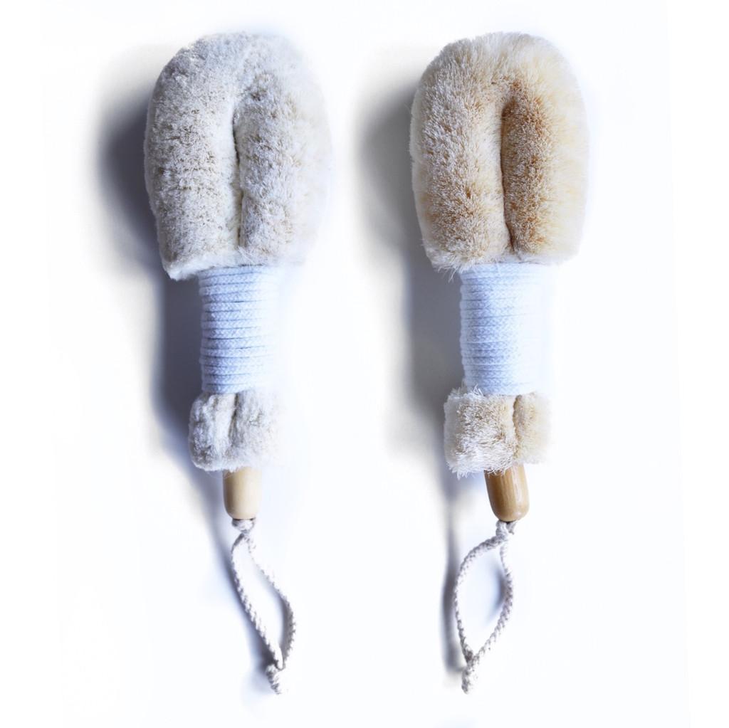 Daily Detox Dry Body Brush Duo (vegan)