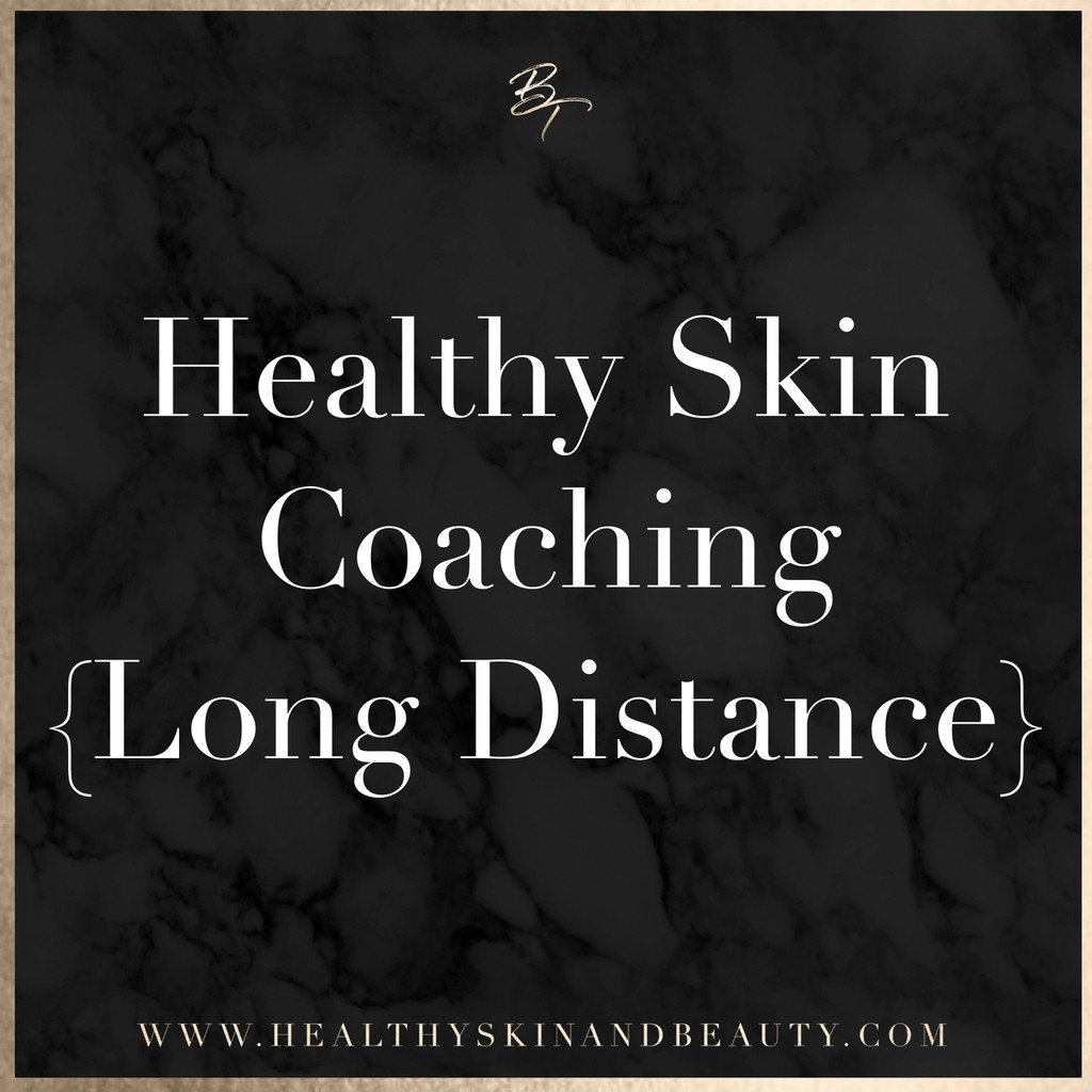 Healthy Skin Coaching (long distance consultation)