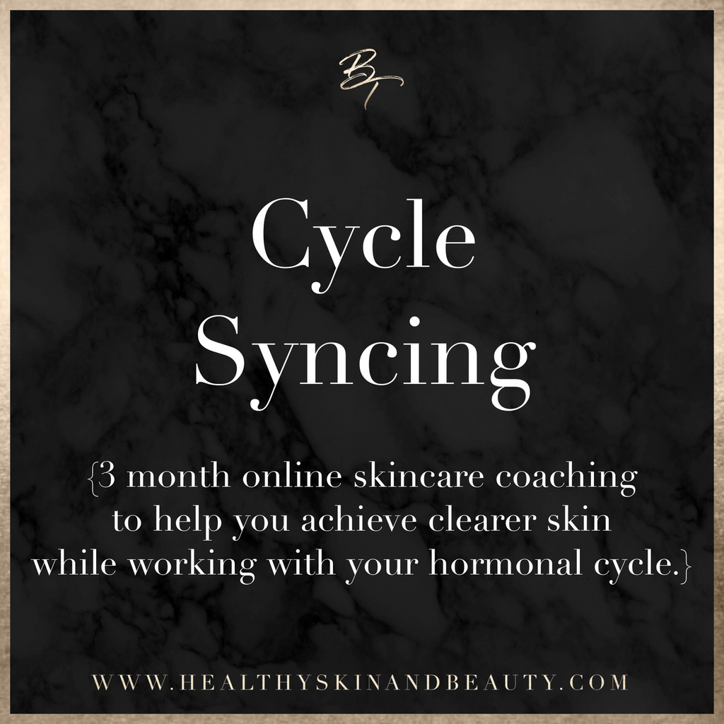 Cycle Syncing (3 Month Online Skincare Coaching Program