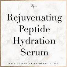 Rejuvenating Peptide Hydration Serum