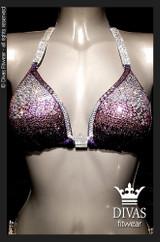 Bikini Division  'Ombre' - purple