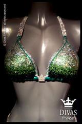 Bikini Division  'Ombre' - green