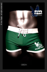 Iron Eagle Low Rise Trunks  - green
