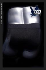 Iron Eagle Classic Physique Trunks  - Black Italian Lycra