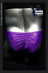 Iron Eagle Posing Trunks - Purple Dazzle Mystique©