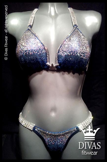 Bikini Division  'Ombre' - blue