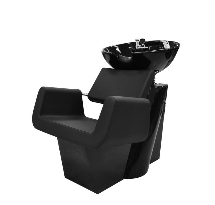 BERKELEY ARON Backwash Chair - Spa Source Mosha Backwash Chair - BLACK
